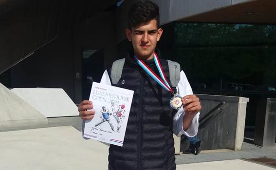 Arnau Fumadó Ortiz, Or a l'Open de Luxemburg