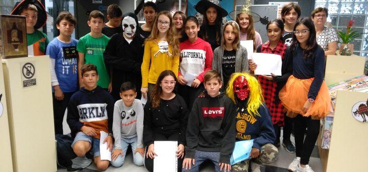 Lectures terrorífiques a iTec en 1r ESO