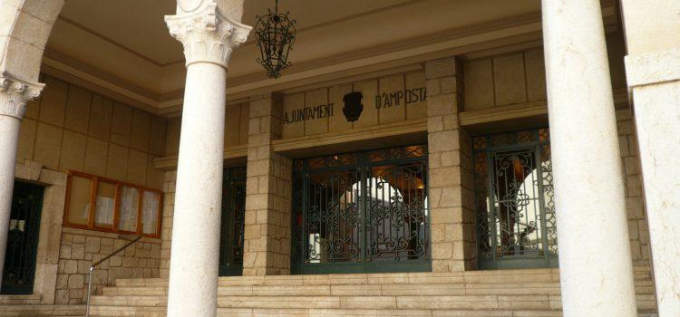 Cultura i valors de 3r ESO visita  l'Ajuntament d'Amposta
