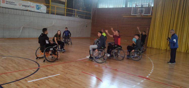 Activitats de sensibilització de discapacitats a 2n EAS