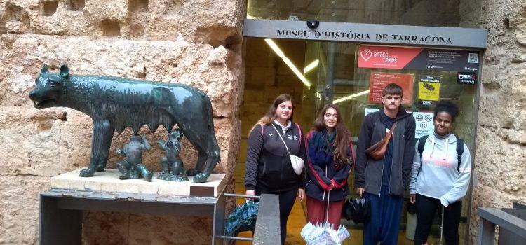 Els nostres estudiants d'Art de 2n de batx. visiten la Tarragona romana