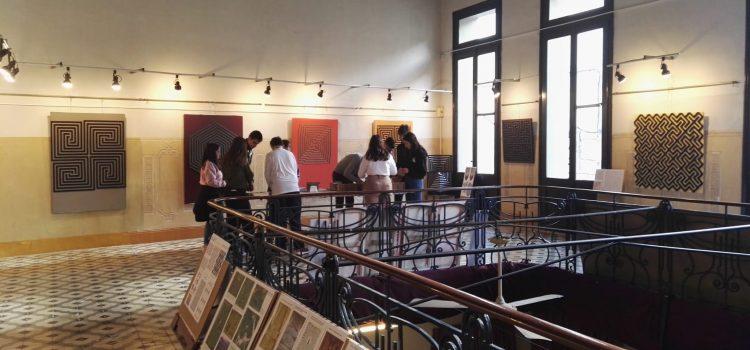 "3r ESO Visita l'exposició de Joan Antoni Blanc, ""Laberints"""