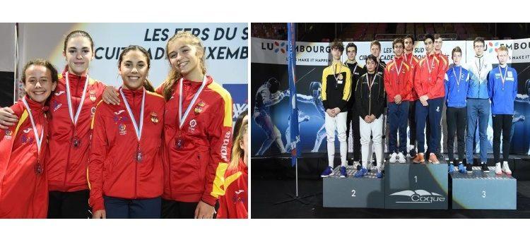 Esgrima iTec, or i plata per equips a Europa