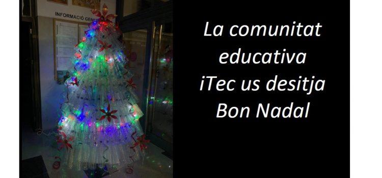 La comunitat educativa iTec us desitja Bon Nadal!