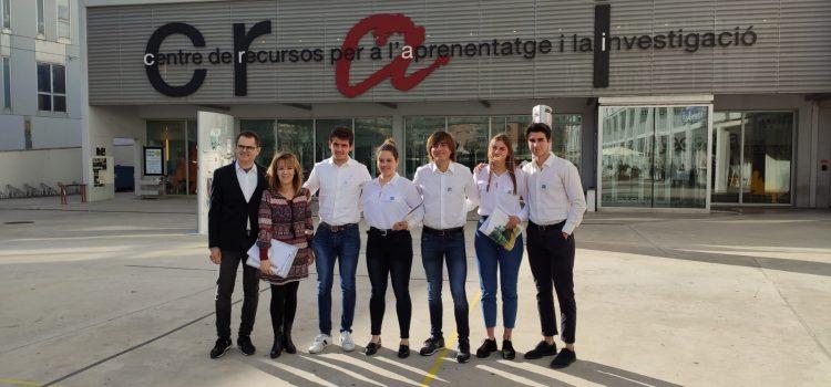 iTec a la final nacional de la Lliga de Debat de la Xarxa Vives, representant a la URV