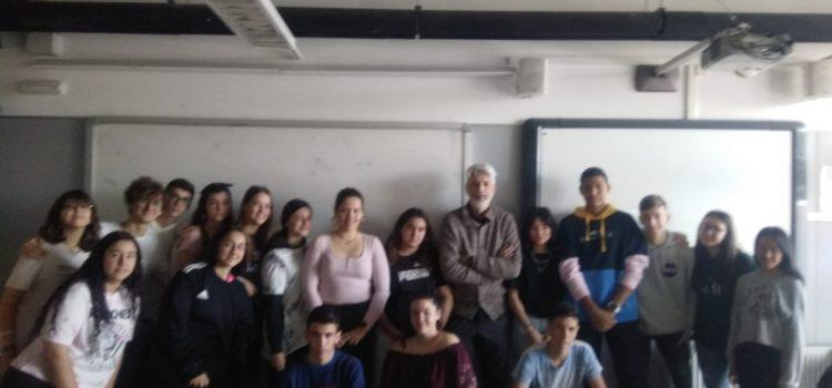 Conferència impartida per Manel Margalef en Filosofia de 4t ESO.